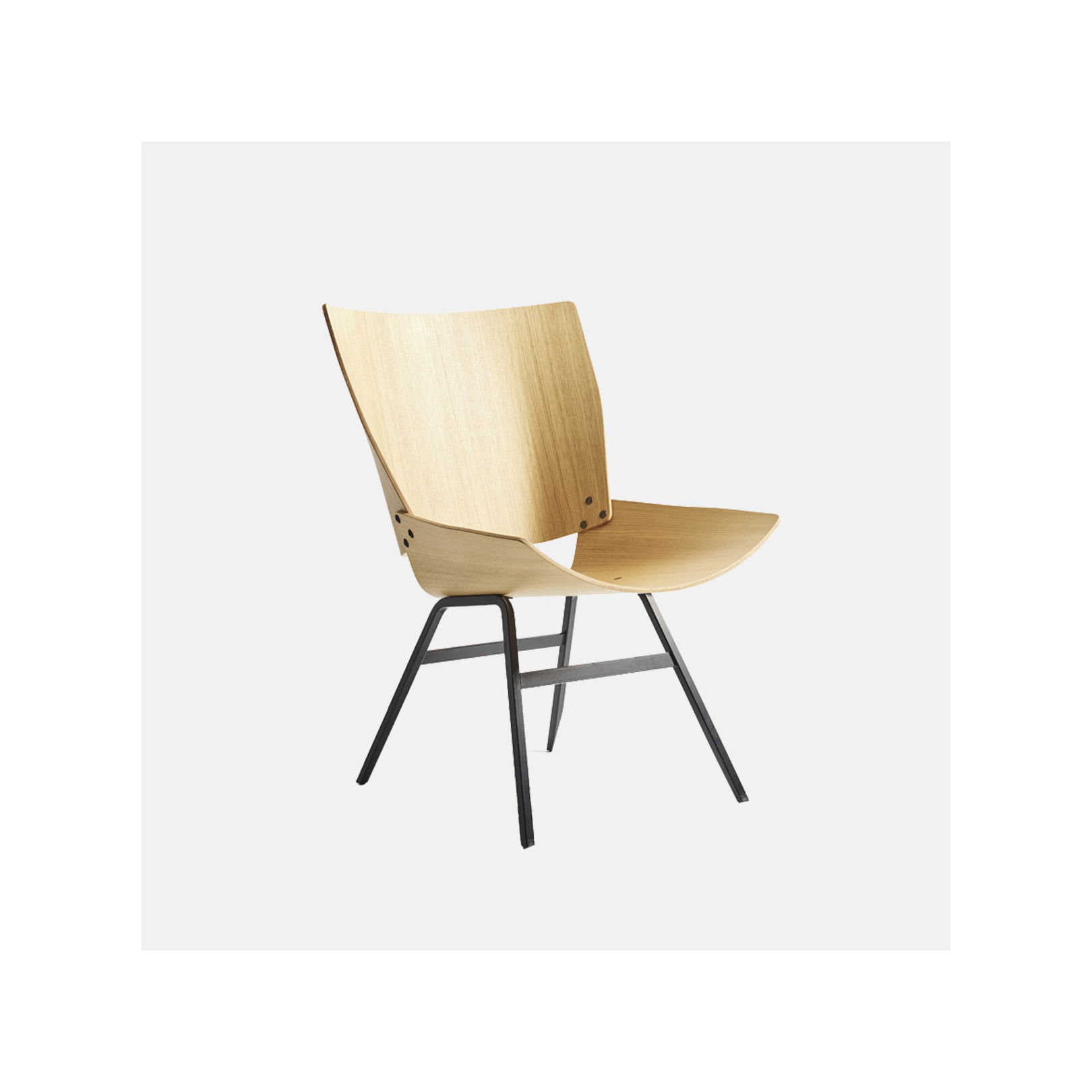 Fauteuil Shell Lounge