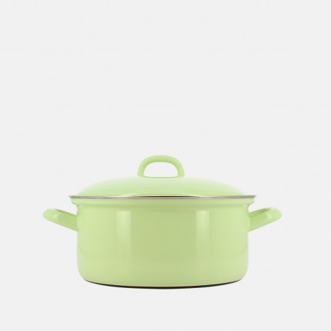 Couvercle Riess vert pastel