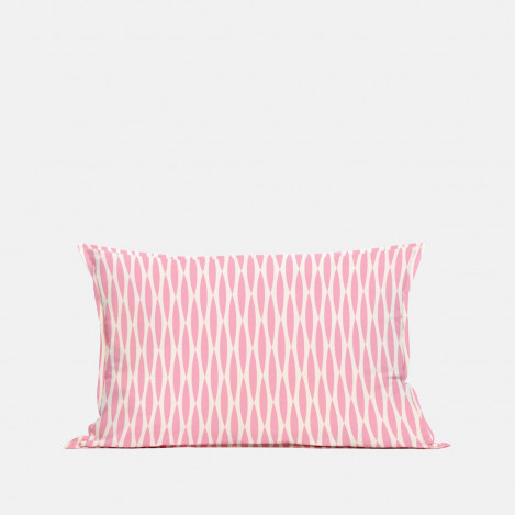Coussin Songe rose rectangulaire